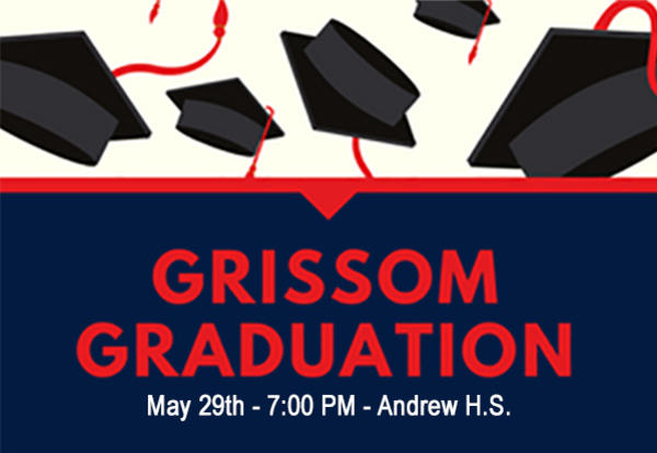 Best of Luck to our Grissom Graduates!