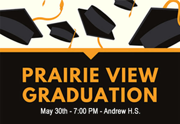 Best of Luck to our Prairie View Graduates!