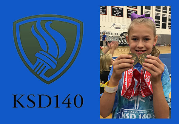 D140 Athletes Medal at Special Olympic State Games
