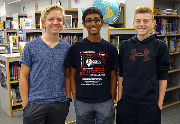 PV Musicians Chosen for ILMEA District Festival on November 3rd