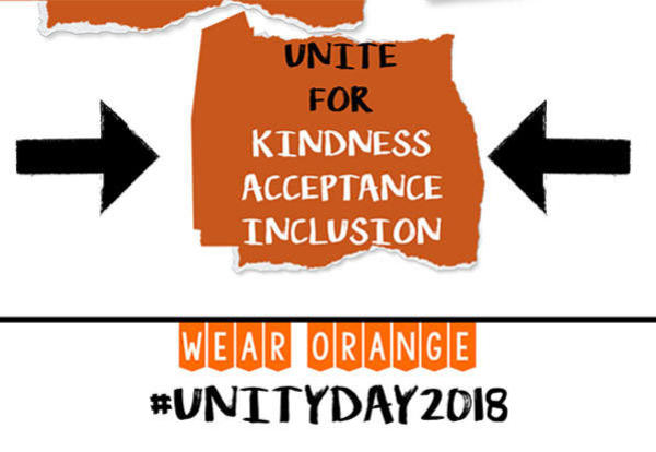 Celebrate Unity Day by Wearing Orange on October 24th!
