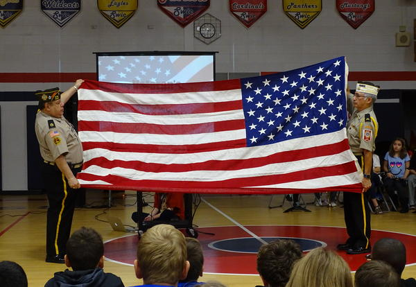 D140 Schools Celebrate Veterans Day