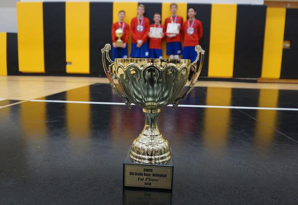 D140 Boys' Volleyball Dominates SWIC Regular and Postseason Play