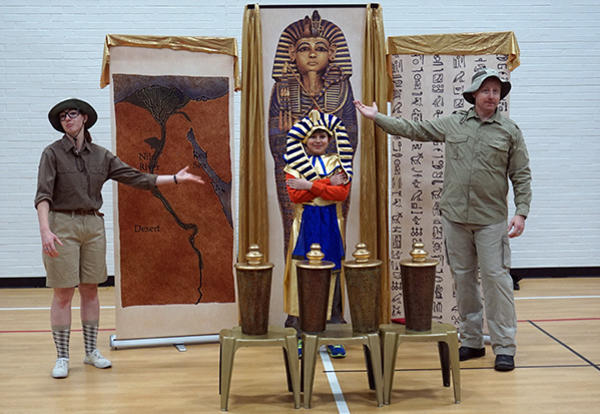 GMS Students Experience Ancient Egypt