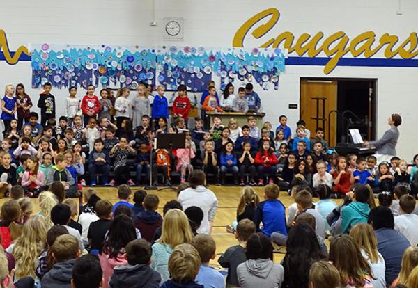 Winter Community Sing at Keller