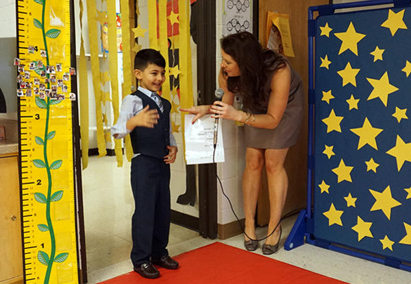 Pre-K Students Star in Red Carpet Event