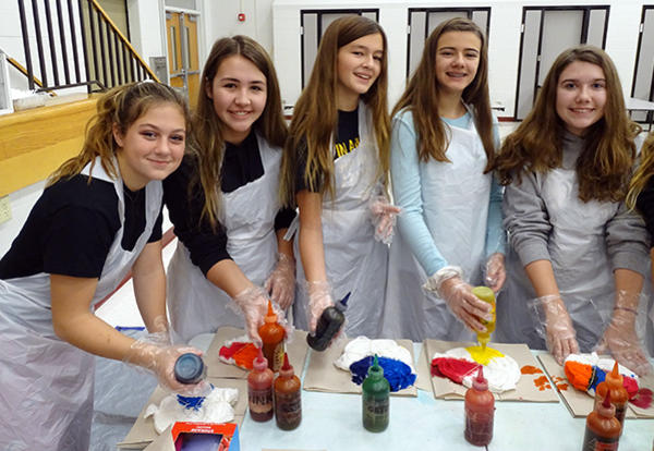 Eighth Students Design Class T-Shirts