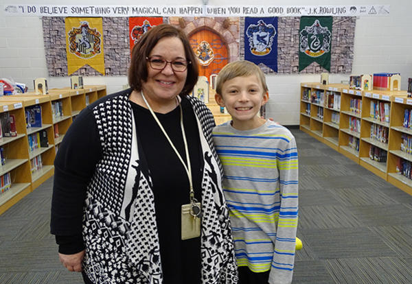 Millennium Student Becomes Vice Principal for the Day