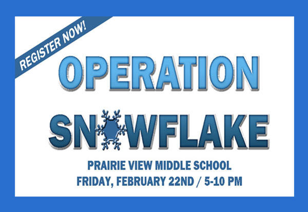 Register Now for Operation Snowflake! (January 31, 2019)