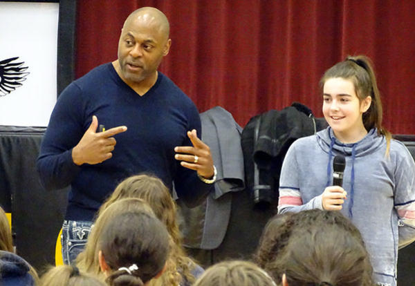 Robert Jackson Inspires D140 Community