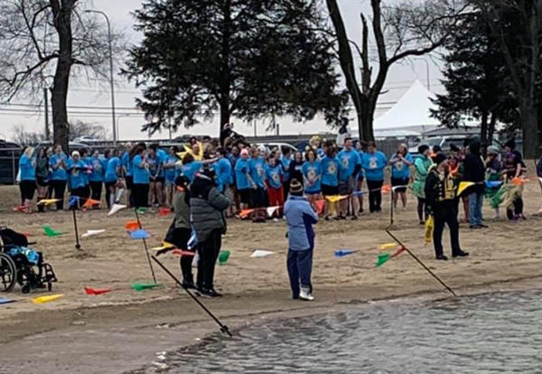 D140 Polar Plunge Team Supports Special Olympics Illinois