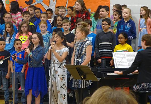 Spring Sing at Keller