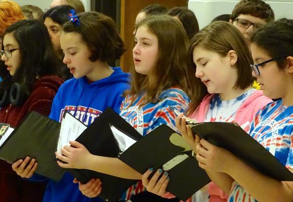 Chorus Tours to Elementaries