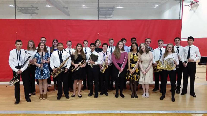 D140 SWIC All-Conference Honor Band