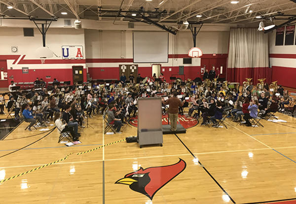 2019 SWIC All-Conference Honor Band