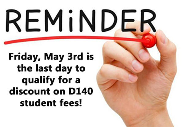 Discounted Registration Fees and Survey Responses Due by May 3rd