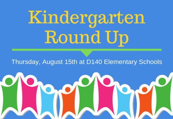 D140 Welcomes Kindergarten Families to the 2019-20 School Year