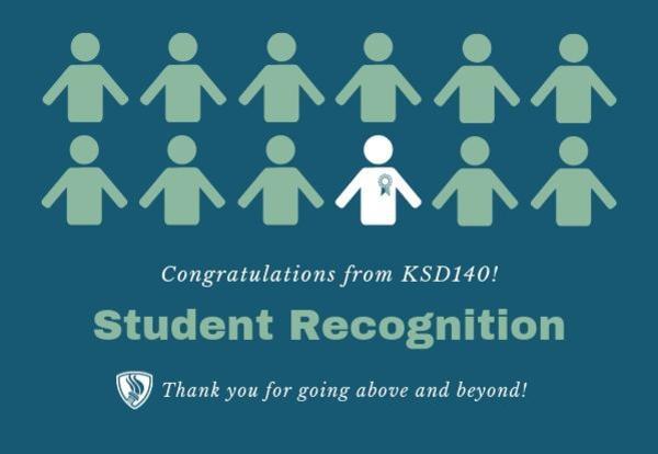 D140 School Board Honors Good Samaritan Students