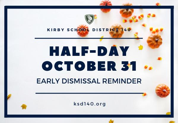 Half-Day reminder graphic