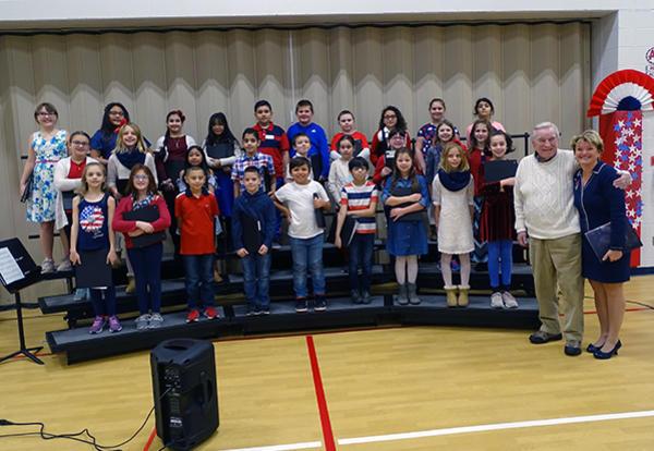 fernway's fourth grade choir