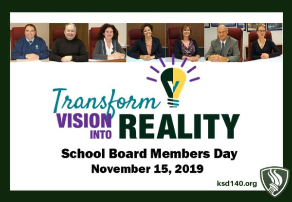 Happy School Board Members Day!