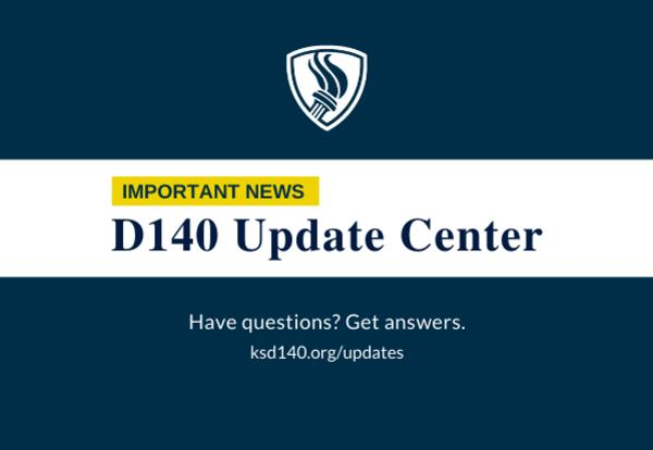 d140 update center logo