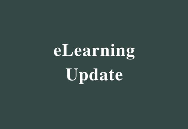 eLearning Update - 03/18/2020