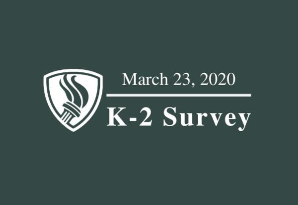 k-2 survey graphic
