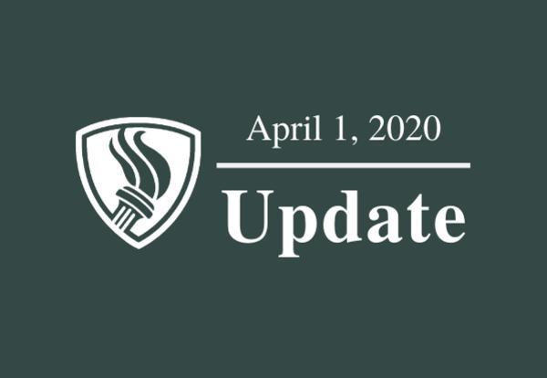 April 1, 2020 update graphic