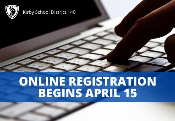 Online Registration Opens Thursday, April 15 in Infinite Campus