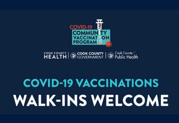 COVID-19 Walk-in Vaccinations