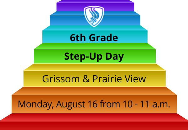 Step-Up Day at Middle Schools for Incoming 6th Graders