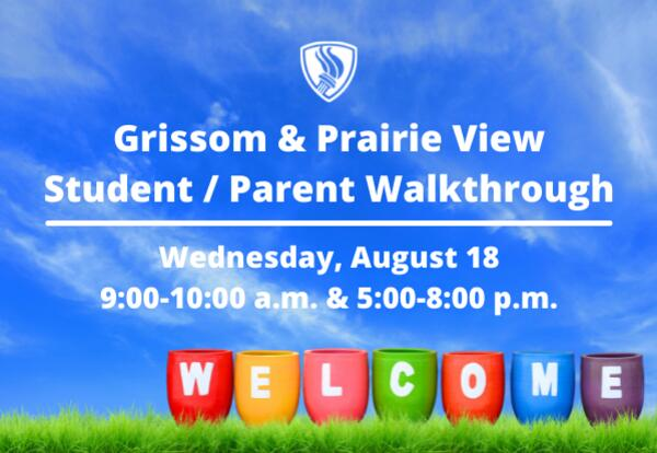 Middle School Families are Invited to Student / Parent Walkthrough