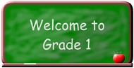 Welcome to grade 1 logo