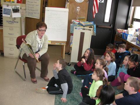 Coakley Middle School Principal Anne Mitchell