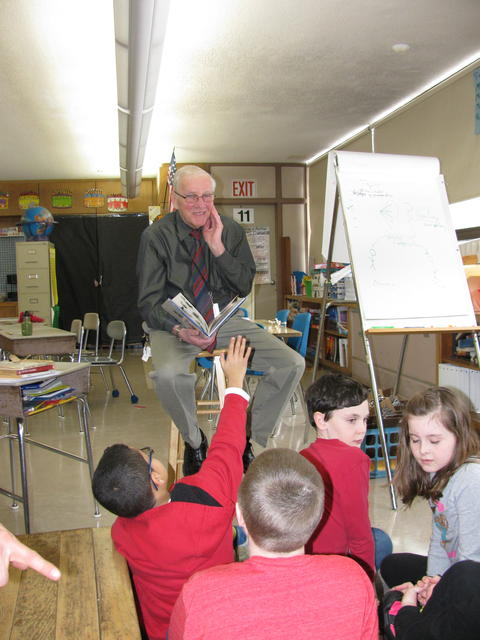 Callahan School principal Bob Griffin