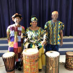 Dancing and Drumming