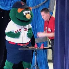 Wally The Green Monster Visits!
