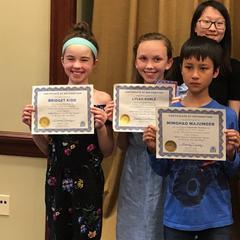 Library Essay Winners