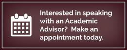 Make an Appointment with an Academic Advisor