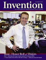 Invention Summer 2007 Cover