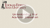 Understanding Your Academic Evaluation