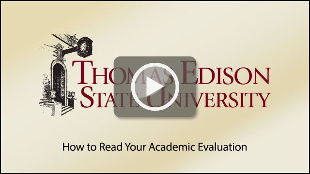 How to Read Your Academic Evaluation at TESU