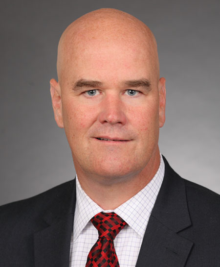 Chris Stringer, Vice President for Administration and Finance and CFO