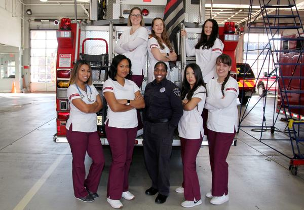 Students Get a Glimpse of Patient Care from a First Responder's Perspective