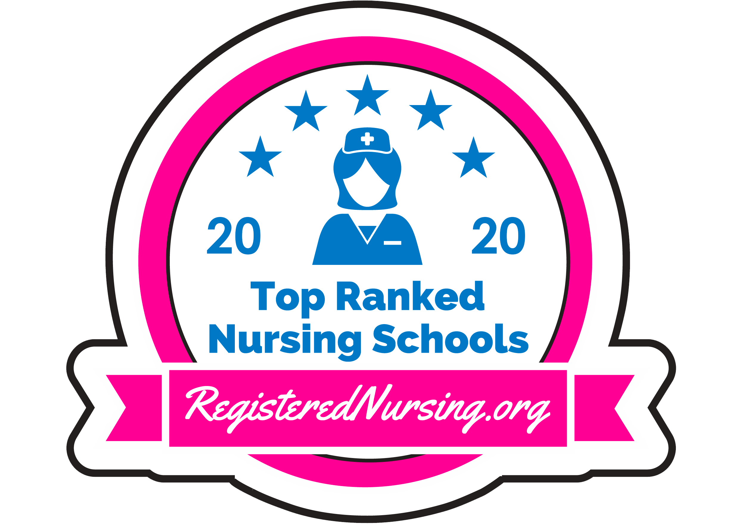 Ranked as one of the best RN Programs in New Jersey for 2020, according to RegisteredNursing.org.