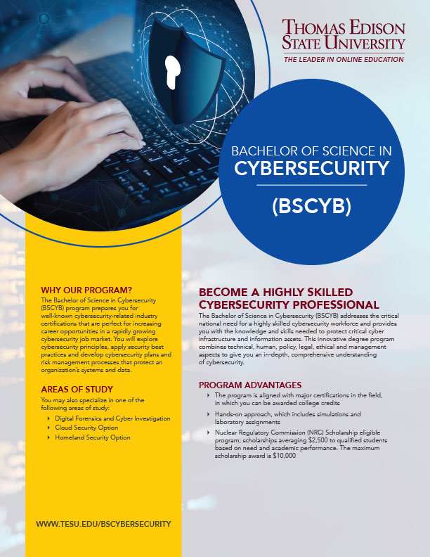 BS in Cybersecurity