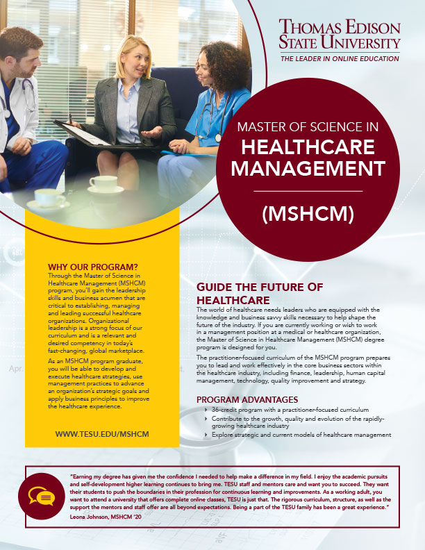 MS in Healthcare Management
