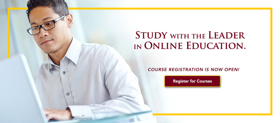 Study with the Leader in Online Education
