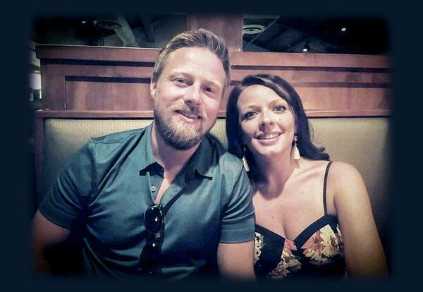 Daniel Dodge and wife, Becca